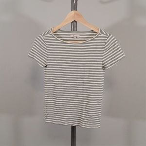 Madewell boat neck striped t-shirt